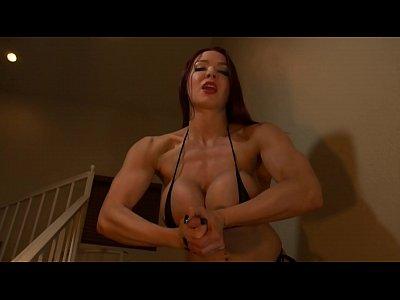 Muscular Dominatrix Kylee Live Femdom Show