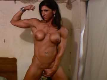 Brazilian FBB Laine Costa Pokes Her Pussy With Big Plastic Toy