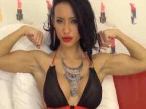 Fit Latina Carla Puts On A Quick Live Cam Action