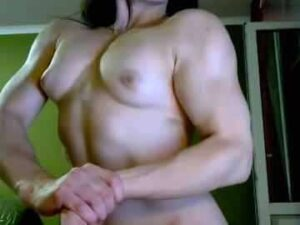 My Naked Muscle Girl Displays Her Physique On Free Webcam Show