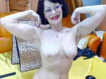 Strong Granny Cam Model Nude Flexing