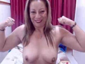 My Naked Mature Latina With Strong Arms