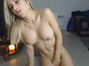 Fit Cam Girl Orgasming With Lovense Vibrator