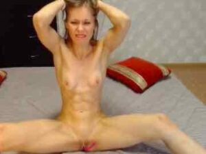 Fit Russian Teen Wild Orgasm With Lovense Vibrator