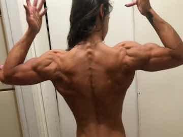 Latina Bodybuilder Muscle Worship