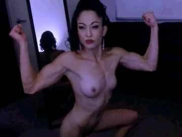 Ripped Girl Nude Solo