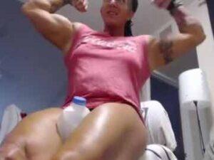 Strong Female Bodybuilder Non Nude Show