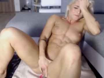 Young Muscle Blonde Remote Controlled Orgasm