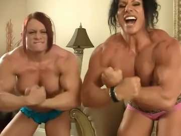 Two Female Bodybuilders Live Webcams Chat