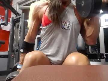 FBB Biceps Workout Webcam